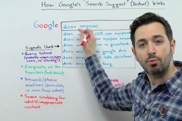 Google Instant Search Suggestion Tutorial