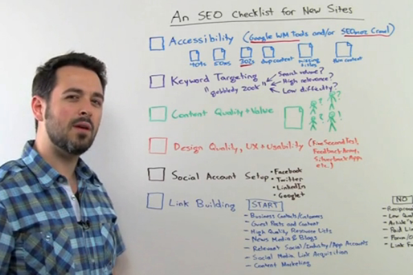 New Site SEO Checklist