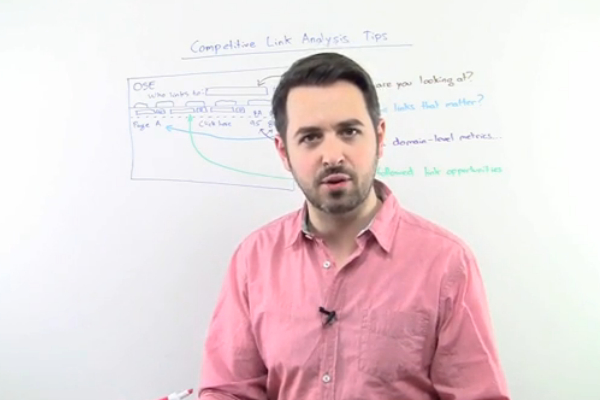 Using Competitive Link Analysis for SEO
