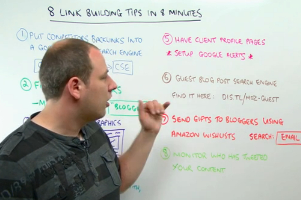 Quick and Creative Linkbuilding Tips