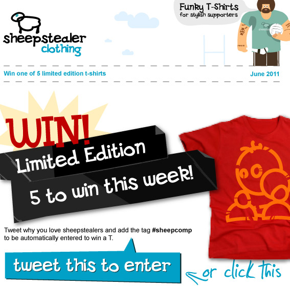 Twitter-Email-Newsletter-Contest-Example
