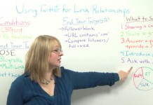 Using Twitter for Linkbuilding