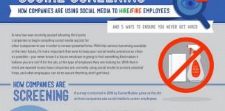How Companies Use Social Media Screening and Social Network Screens