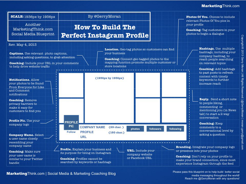 Instagram Profile Optimization Guide and Cheat Sheet
