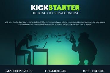 Largest Kickstarter Projects and Kickstarter Statistics that Matter