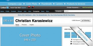 LinkedIn Image Sizes and Image Dimensions for Company Pages