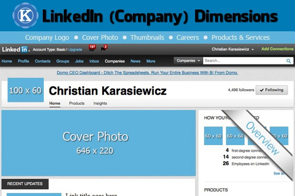 LinkedIn Image Sizes and Image Dimensions for Company Pages ...