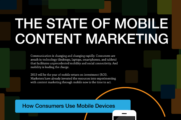 Mobile Content Marketing Stats, Strategy and Publishing