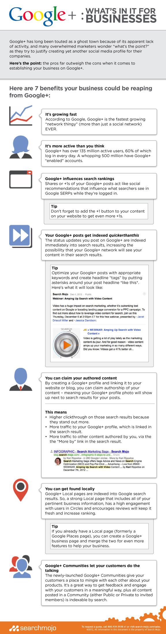 7 Key Benefits of Getting a Google Plus Page for your Company