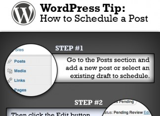 How to Schedule a Wordpress Post for a Time and Date