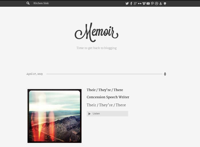 Minimalistic-tumblr-layout-white-background