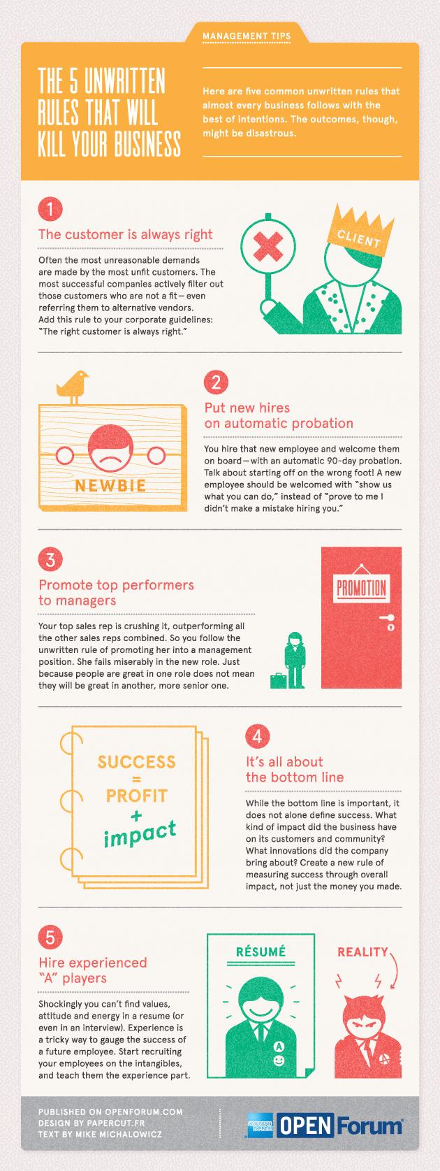 5 Unique Small Business Management Tips for Success