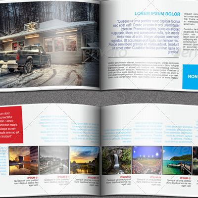 Travel Agency Booklet Brochure Example