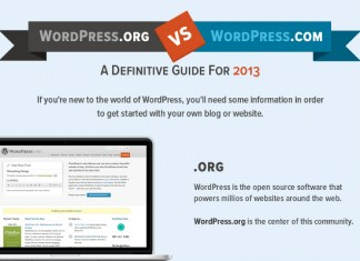 WordPress.com vs. WordPress.org Side by Side Comparison