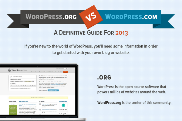 WordPress.com vs. WordPress.org Side by Side Comparison