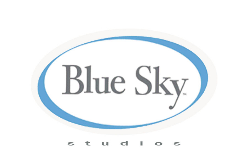 Blue Sky Studios Company Logo List of Famous Movie and Film Production Company Logos