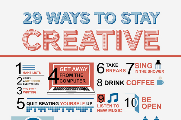 29 Creative Thinking Exercises on How to be Creative