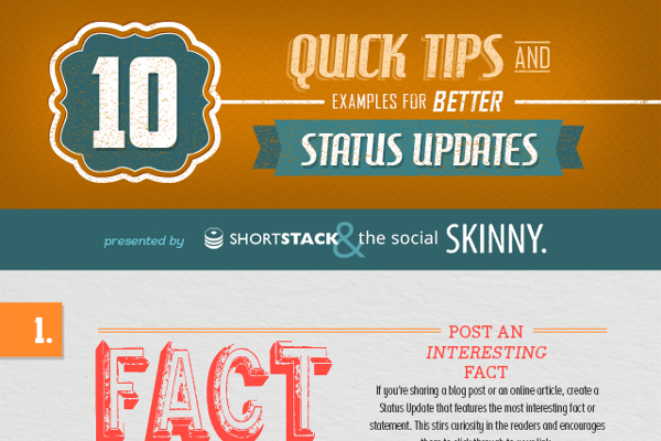 10 Great Facebook Status Update Template Examples BrandonGaille – Status Update Template