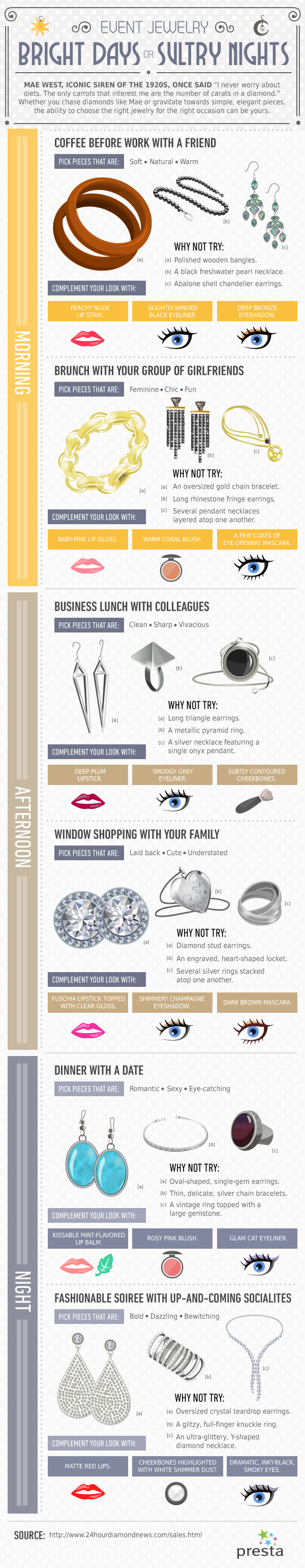 Fashion Tips With Jewelry and Makeup 32 Catchy Jewelry Slogans and Popular Taglines