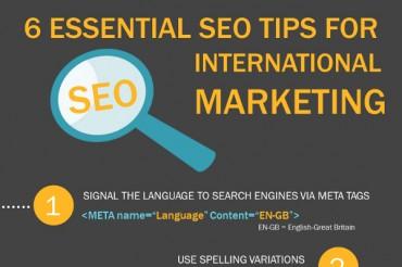 6 Essential International SEO Tips for an International SEO Strategy