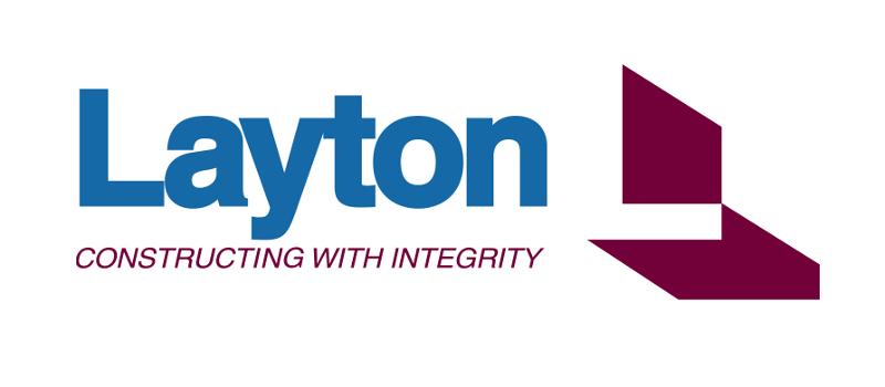 Layton Construction Company Logo