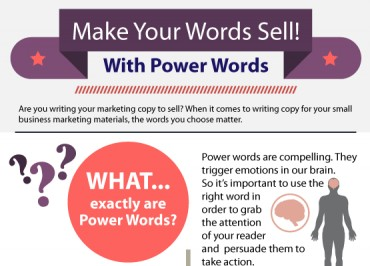 List of Marketing Power Words that Sell