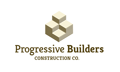 Progressive Builders Construction Company Logo