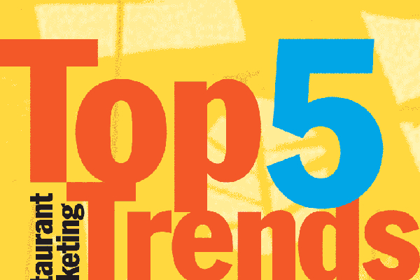 5 New Restaurant Trends for 2013 and 2014