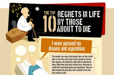 10 Biggest Regrets in Life from People About to Die