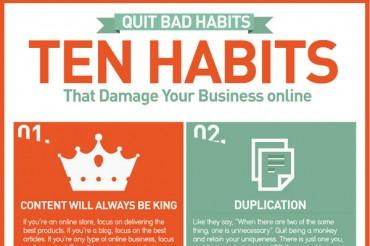 10 Common Bad Habits that Hurt Your Business Online
