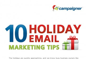 10 First Class Christmas and Holiday Email Marketing Tips