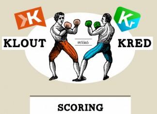Klout Score vs. Kred Score
