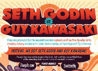 Seth Godin vs. Guy Kawasaki: Social Media and Blog Comparisons