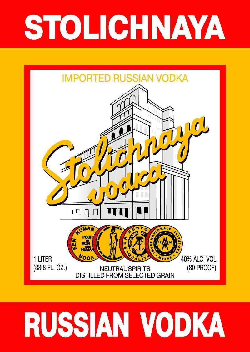 Stoclichnaya Company Logo 19 Best Vodka Brands and Vodka Company Logos