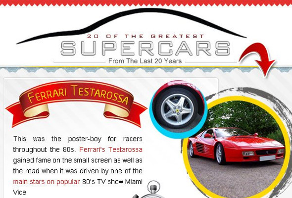Top 10 Coolest Super Cars of All Time