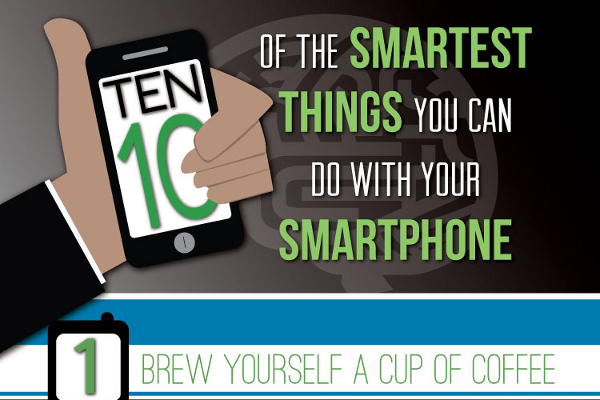 10 Coolest Things to Do With a Smartphone