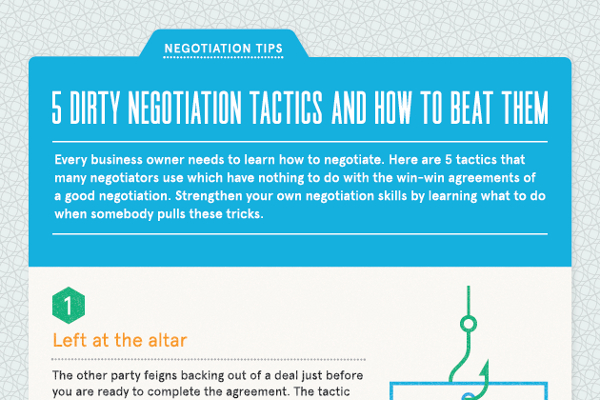 5 Tips to Counter Dirty Negotiation Tactics
