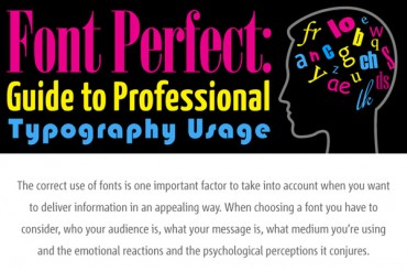 9 Good Typography Usage Tips and Examples