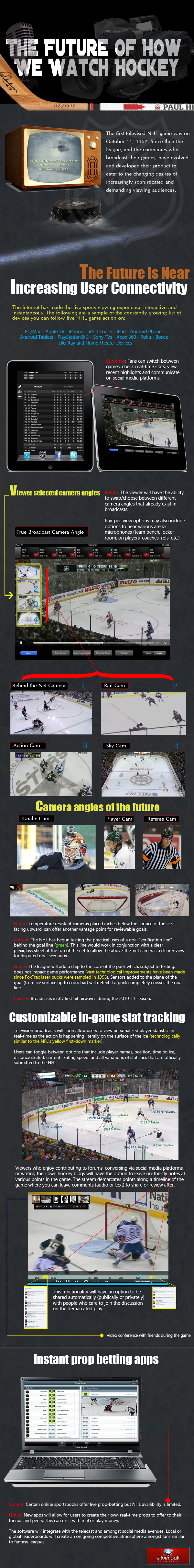 Alternative Ways to Watching Hockey