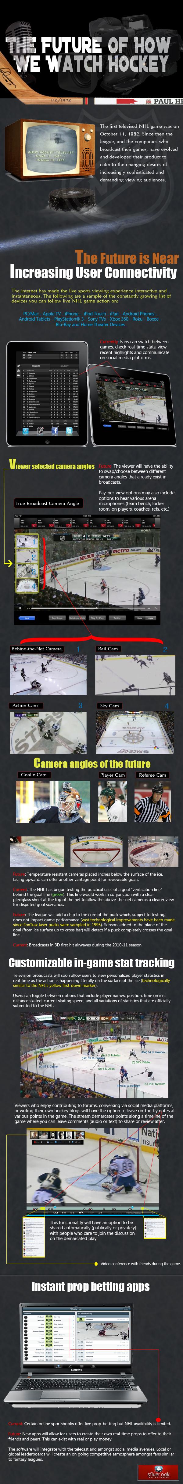 Alternative Ways to Watching Hockey