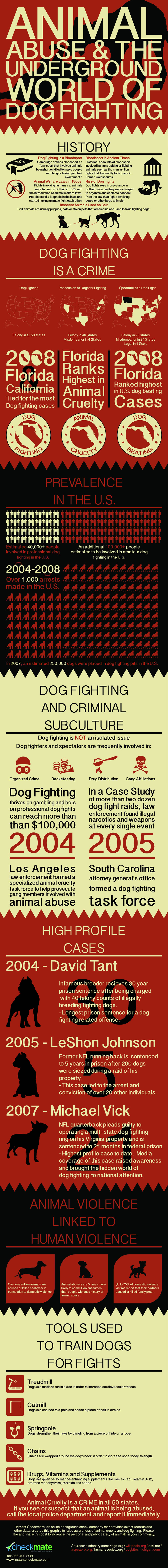 Facts About Dog Fighting and Animal Abuse