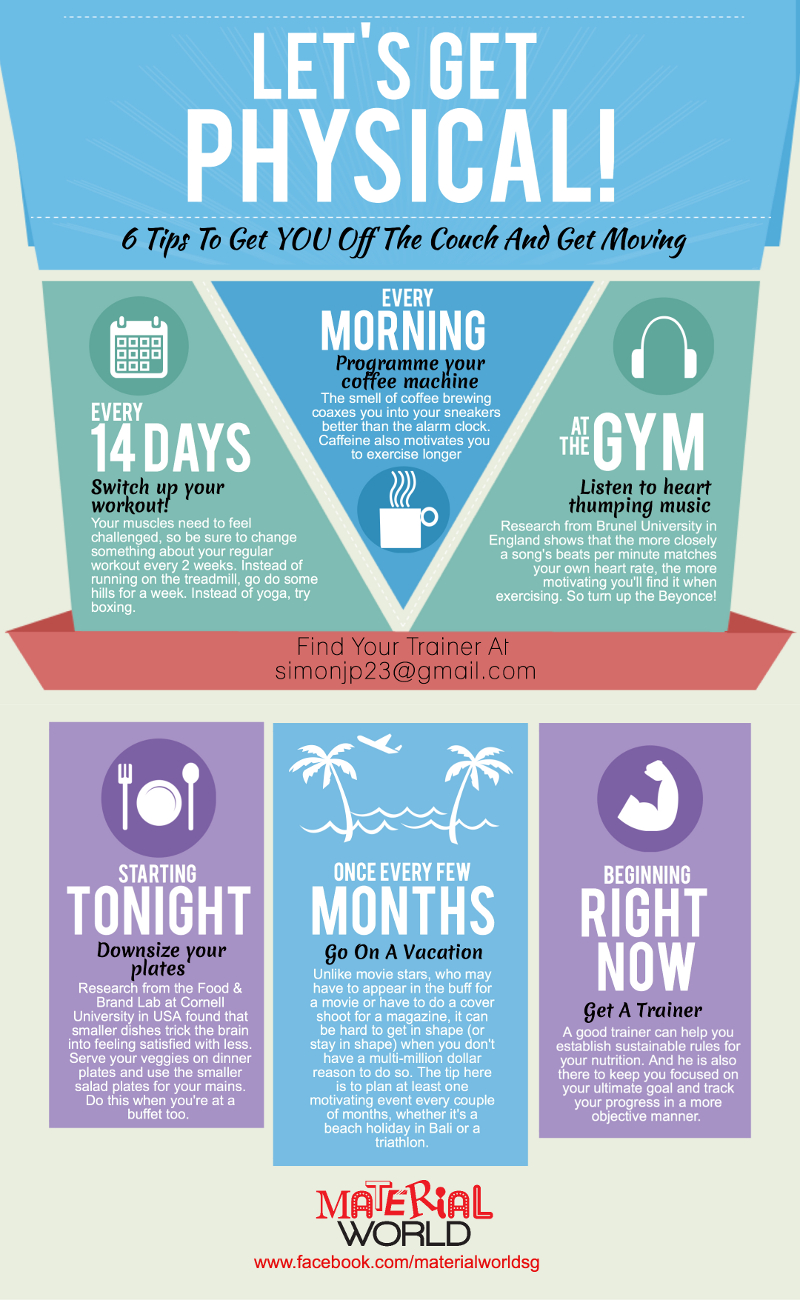 Fitness Tips to Keep Motivated