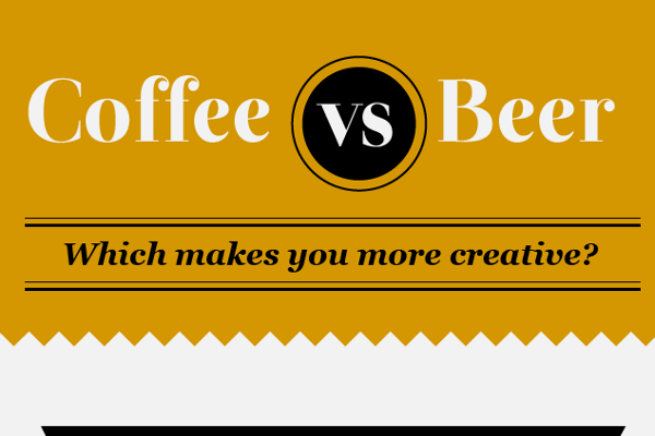 How Coffee and Beer Make You More Creative