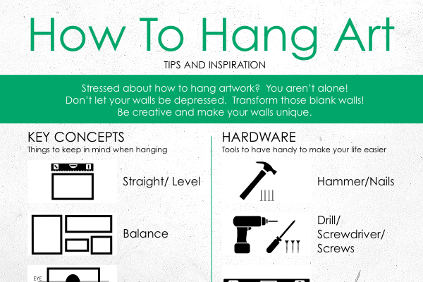 How To Perfectly Hang Canvas Art On Walls Brandongaillecom