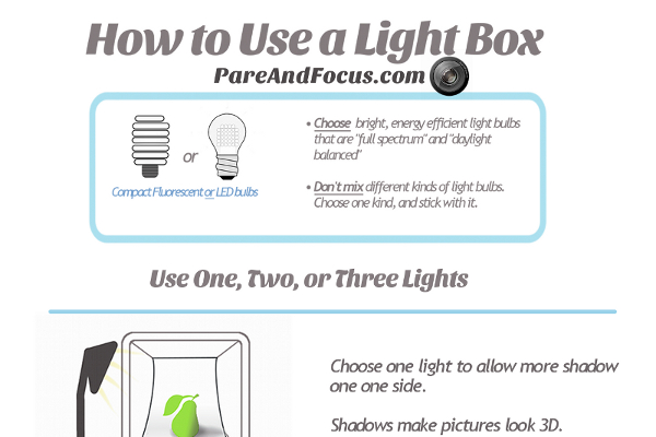 How to Use a Photo Lightbox for Photography