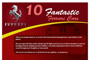 10 Greatest Ferrari Production Cars of All-Time