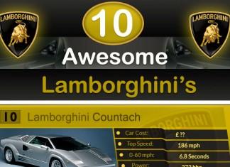 10 Greatest Lamborghini Sports Cars of All-Time