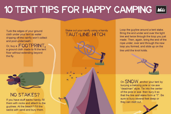 10 Must Know Camping Safety Tips - BrandonGaille com