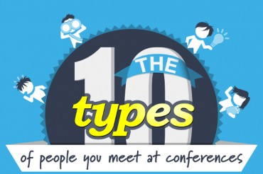 10 Types of People You Network with at Conferences