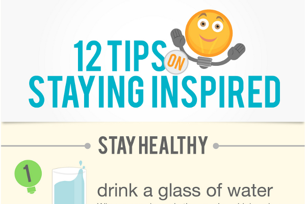 12 Ways to Stay Inspired